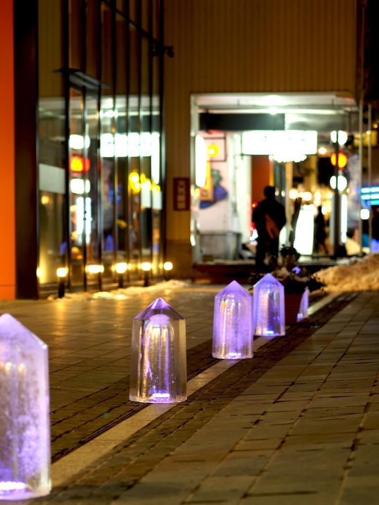 氷の彫刻展inマチニワ&横丁