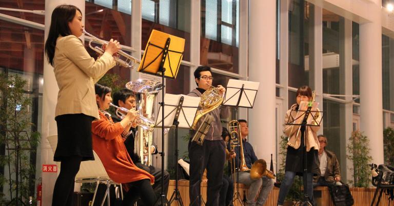 【12/15・12/16】マチニワ で音楽鑑賞はいかがでしょう?