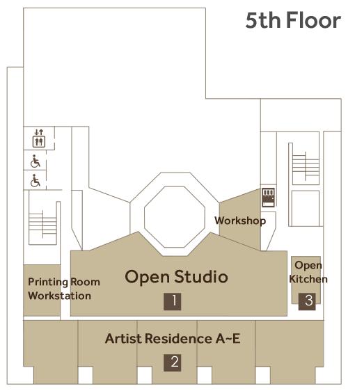 5th floor map