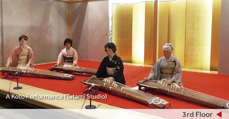 3rd Floor/A Koto Performance (Tatami Studio)