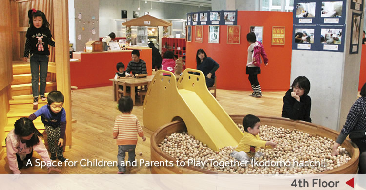4th Floor/A Space for Children and Parents to Play Together (kodomo hacchi)