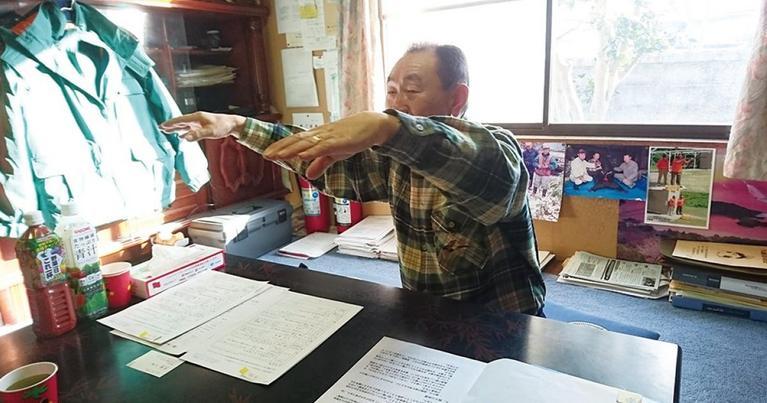 豊年満作を祈りつつ踊る「八太郎おしまこ」